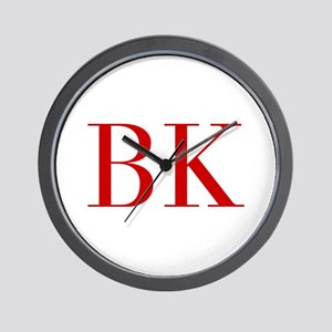 BK-bod red2 Wall Clock