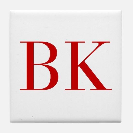 BK-bod red2 Tile Coaster