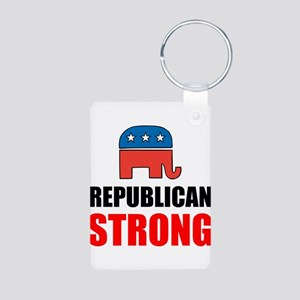 Republican Strong Keychains