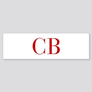 CB-bod red2 Bumper Sticker