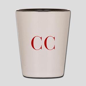 CC-bod red2 Shot Glass