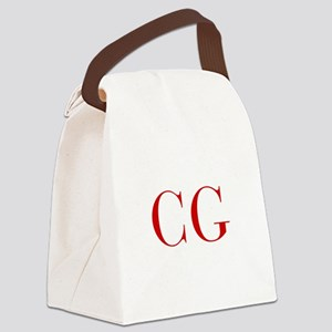 CG-bod red2 Canvas Lunch Bag