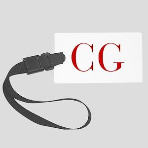 CG-bod red2 Luggage Tag