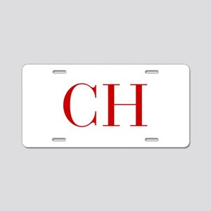 CH-bod red2 Aluminum License Plate