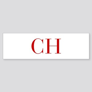 CH-bod red2 Bumper Sticker