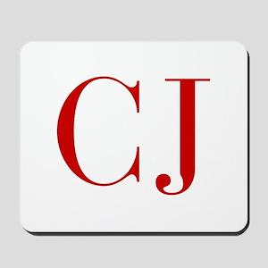CJ-bod red2 Mousepad