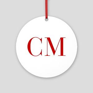 CM-bod red2 Ornament (Round)