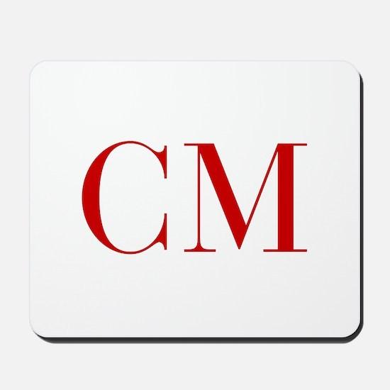 CM-bod red2 Mousepad