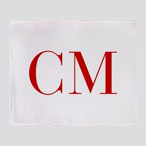 CM-bod red2 Throw Blanket