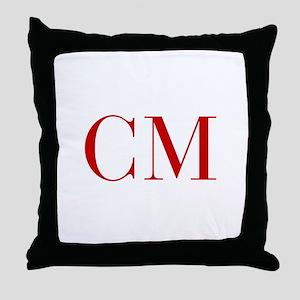 CM-bod red2 Throw Pillow
