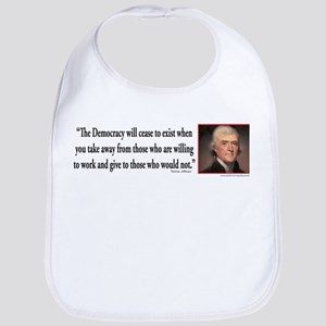 Thomas Jefferson explains Democracy Bib