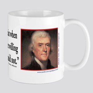 Thomas Jefferson explains Democracy Mug