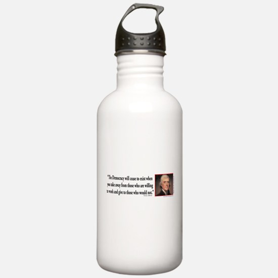 Thomas Jefferson expla Water Bottle
