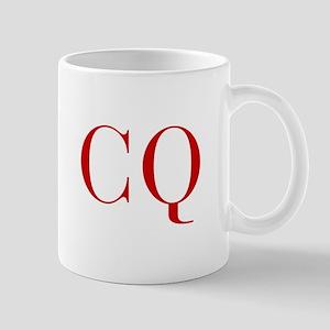 CQ-bod red2 Mugs
