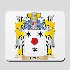 Cola Coat of Arms - Family Crest Mousepad