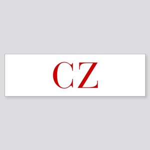 CZ-bod red2 Bumper Sticker