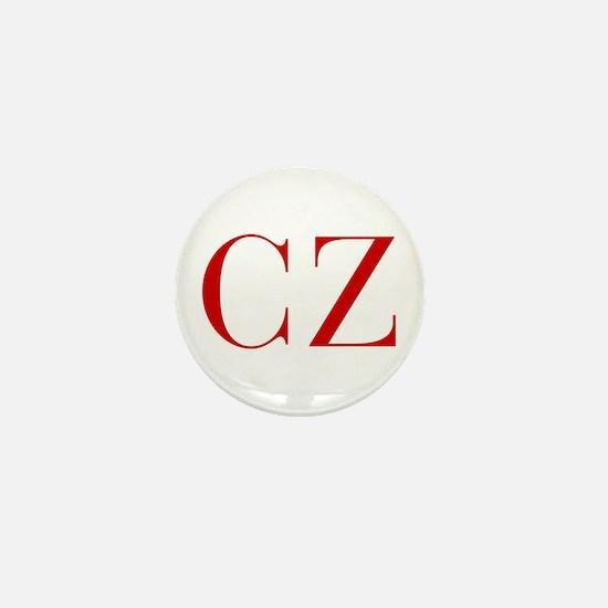 CZ-bod red2 Mini Button