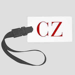 CZ-bod red2 Luggage Tag