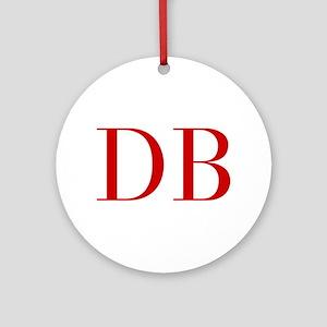 DB-bod red2 Ornament (Round)