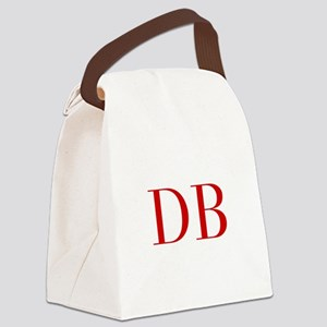 DB-bod red2 Canvas Lunch Bag