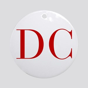 DC-bod red2 Ornament (Round)