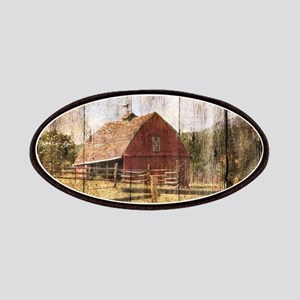 farm red barn wood texture Patches