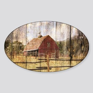 farm red barn Sticker