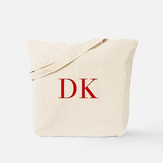 DK-bod red2 Tote Bag