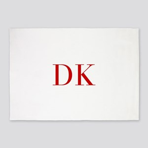 DK-bod red2 5'x7'Area Rug