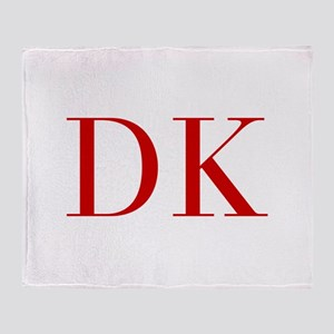 DK-bod red2 Throw Blanket