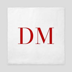 DM-bod red2 Queen Duvet