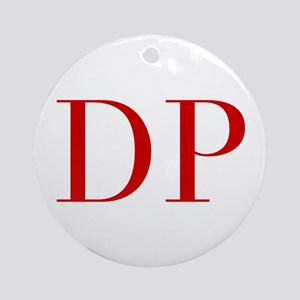 DP-bod red2 Ornament (Round)