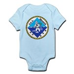 USS BEARSS Infant Creeper