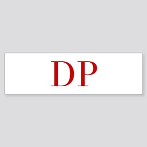 DP-bod red2 Bumper Sticker