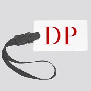 DP-bod red2 Luggage Tag