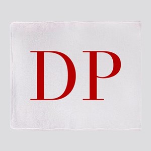 DP-bod red2 Throw Blanket