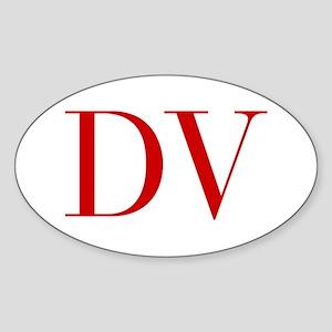 DV-bod red2 Sticker