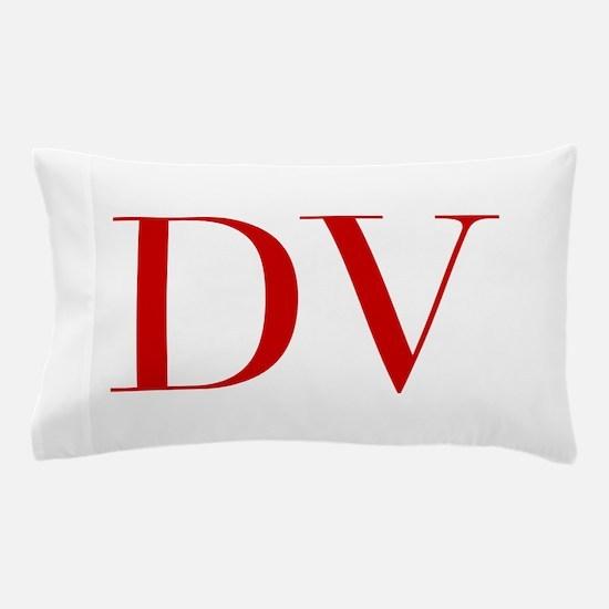 DV-bod red2 Pillow Case