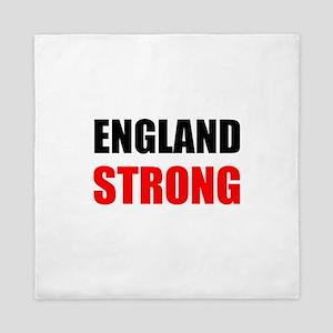 England Strong Queen Duvet