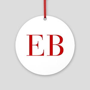 EB-bod red2 Ornament (Round)