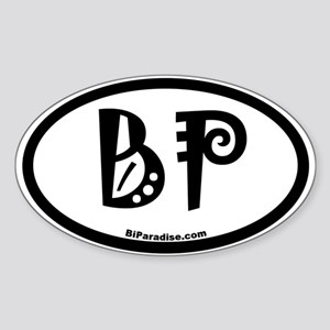 BiParadise Oval Sticker