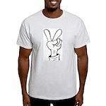 Ash Grey Peace T-Shirt