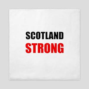 Scotland Strong Queen Duvet