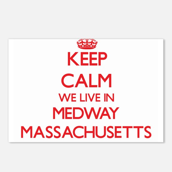 Keep calm we live in Medw Postcards (Package of 8)