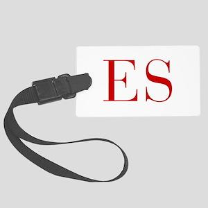 ES-bod red2 Luggage Tag