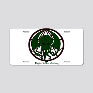 Cthulhu Aluminum License Plate