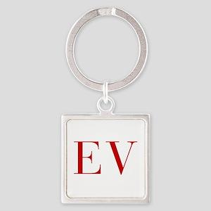 EV-bod red2 Keychains