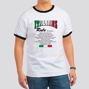 Italians Rules Ringer T