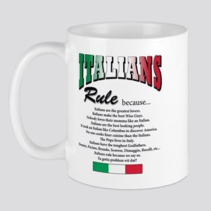 Italians Rules Mug