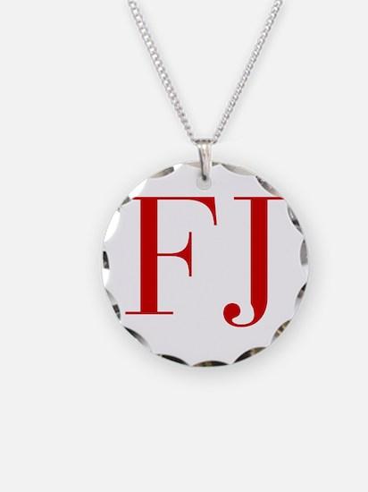 FJ-bod red2 Necklace